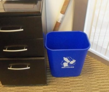Office Recycling 101: Shrink the Trash Receptacle